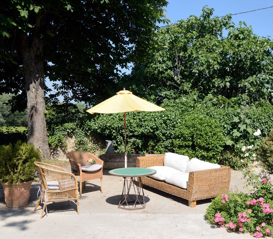 Jardins et terrasse