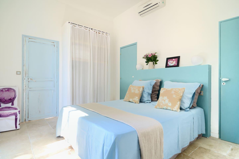 Location chambre dans gîte de charme à Grambois